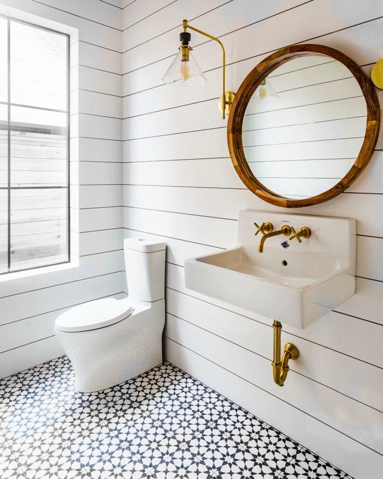 Estrella Black: Cement Tile, Black and White Tile | Riad Tile