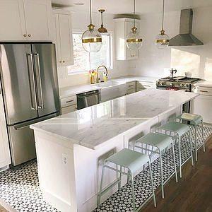 Cement Tile Kitchen Renovation
