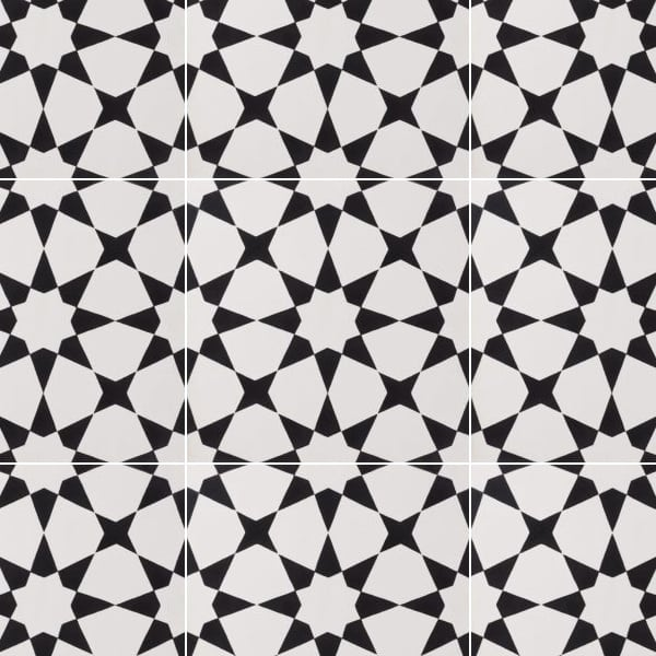 Estrella Black Tile