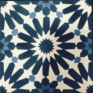 Patterned Tile: Handcrafted Cement Tile | Riad Cement Tile