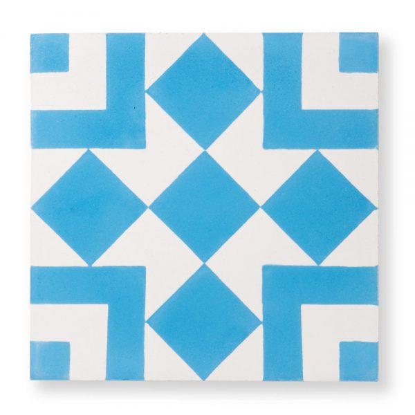 Sample: El Fenn Blue Tile
