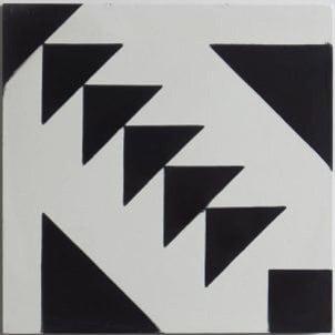 Cement Tile - Zanzibar-1-301x301 Zanzibar Black Tile