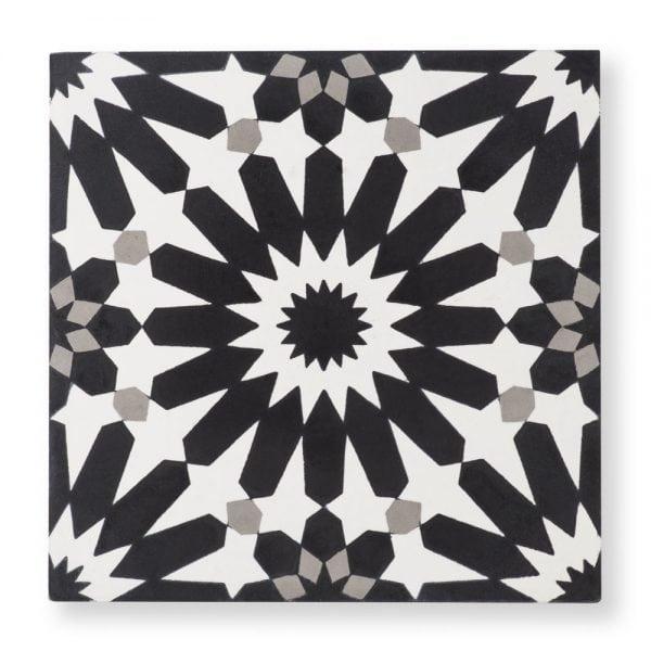 Sample: Erizo Black Tile
