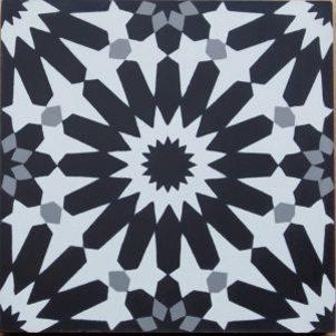 Cement Tile - Erizo-Black-1-301x301 Erizo Black Tile