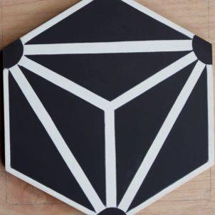 Cement Tile - Knox-Black-1-301x301 Knox Black Tile