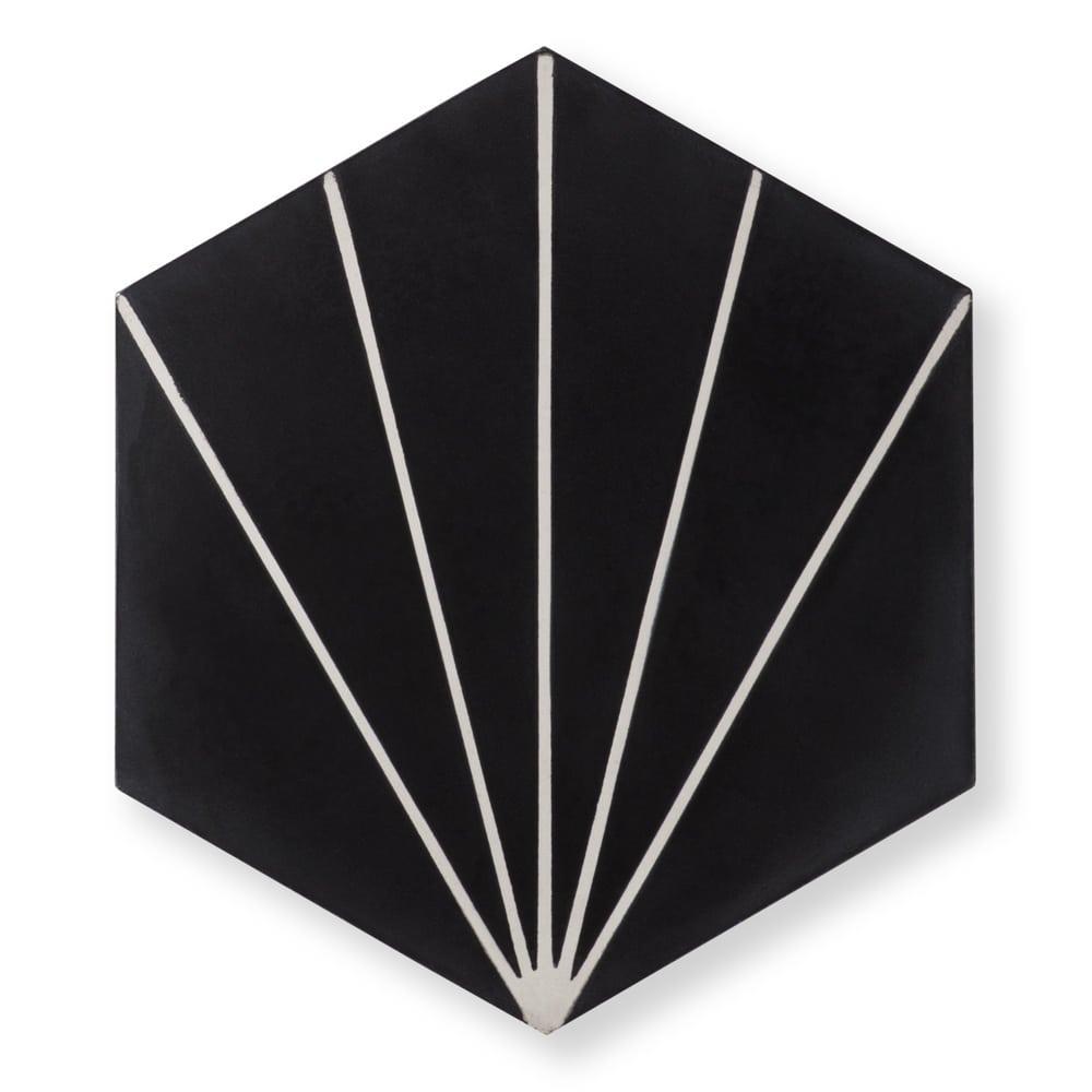 Sample: Nola Black Tile