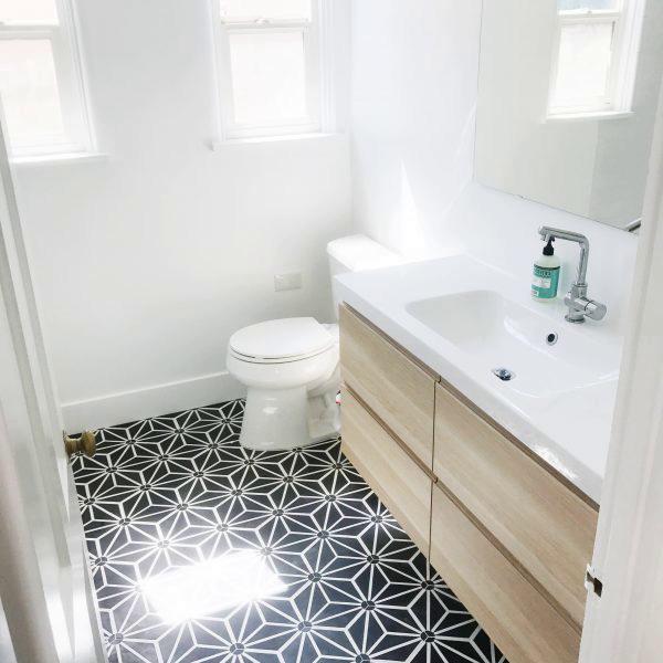 Cement Tile - Tayler-Jonker-Bathroom-1-600x600 Knox Black Tile