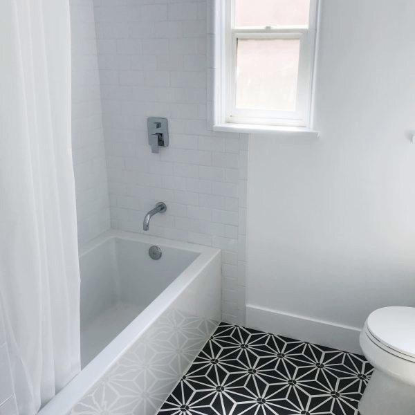 Cement Tile - Tayler-Jonker-Bathroom-3-600x600 Knox Black Tile