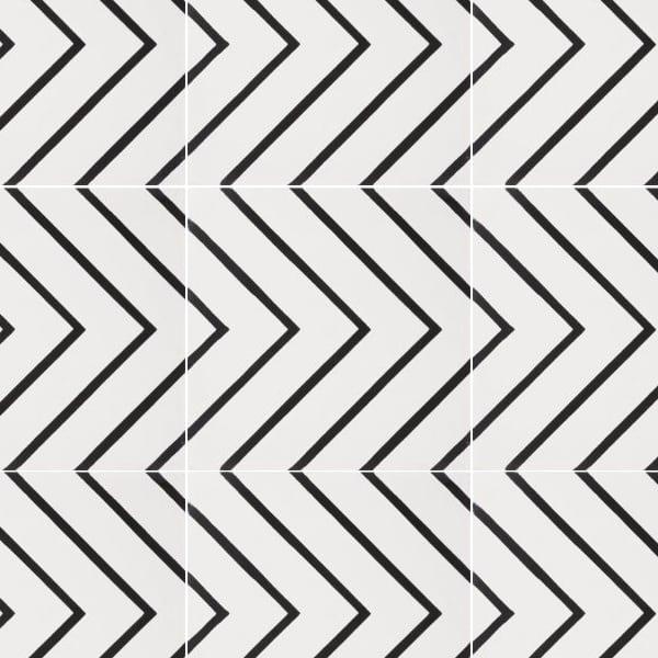 Maya White Tile