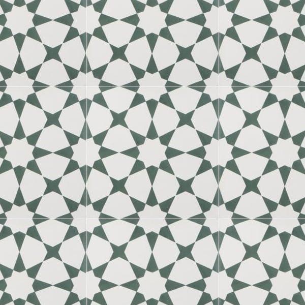 Estrella Green Tile