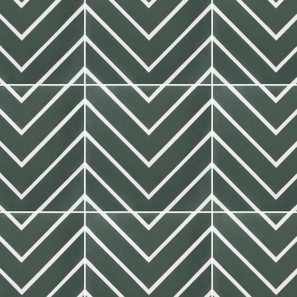 Maya Green Tile