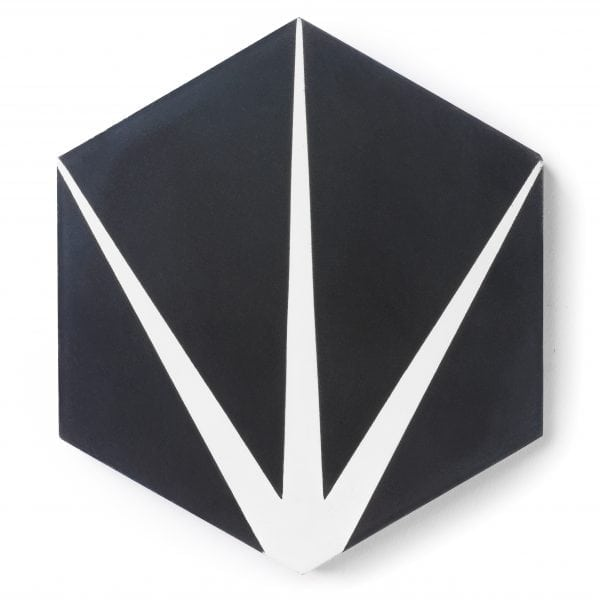 Sample: Trident Black Tile