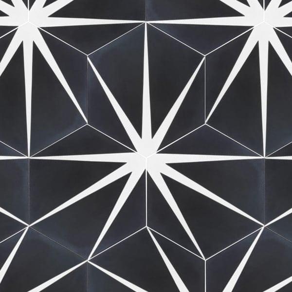Trident Black Tile