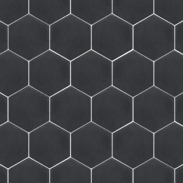 Solid Black Hexagon