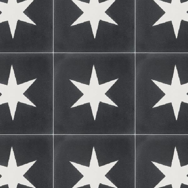 Superstar Black Tile