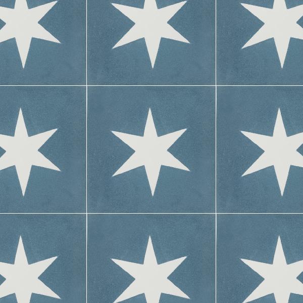 Superstar Blue Tile