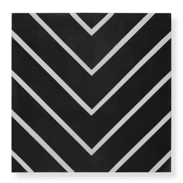 Maya Black Tile