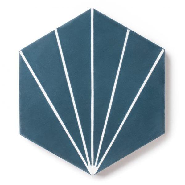 Sample: Nola Blue Tile