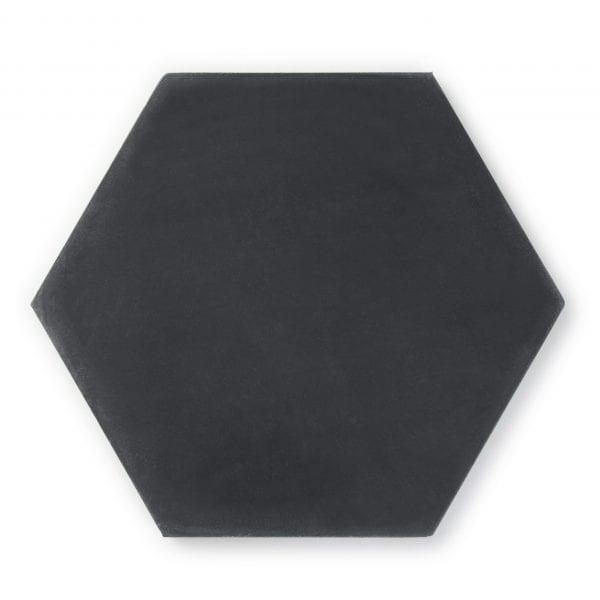 Sample: Solid Black Hexagon