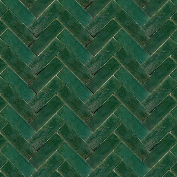 Emerald Green - Zellige 2