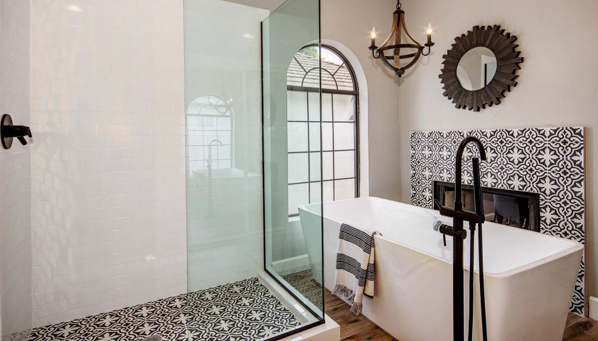 Cement Tile, Moroccan Tile, Black and White Tile | Riad Tile