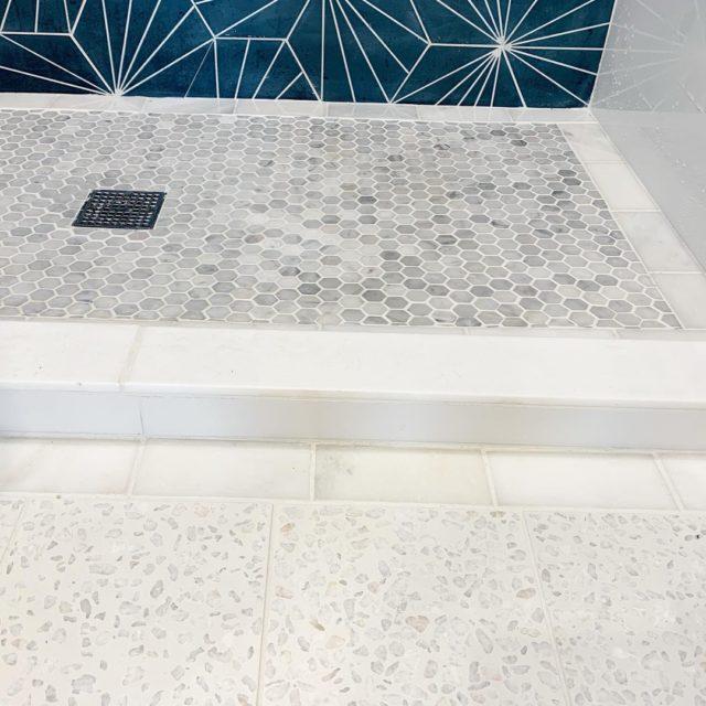 Terrazzo White Terrazzo Tile Cement Tile Modern Tile